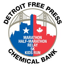 Detroit Free Press/Chemical Bank Marathon Logo