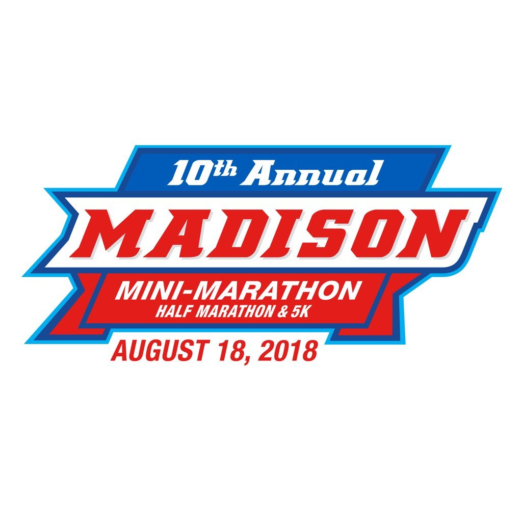 Logo for Madison Mini Marathon Event