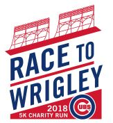 Race to Wrigley 5K Run Logo