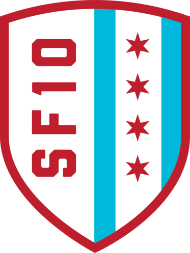 Logo for the Soldier Field 10 Mile Event